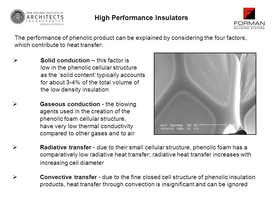 High Performance Insulators