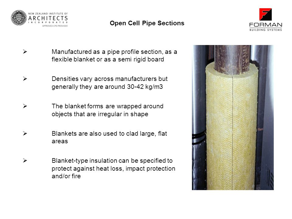 Open Cell Pipe Sections