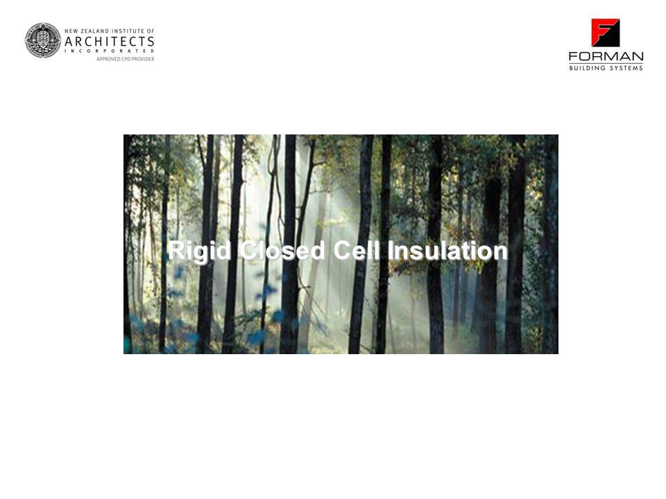 Rigid Closed Cell Insulation