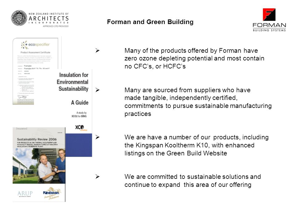 Forman and Green Building