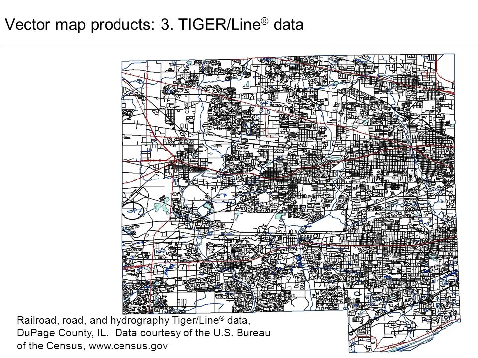 Vector map products: 3. TIGER/Line® data