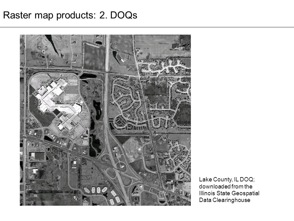 Raster map products: 2. DOQs