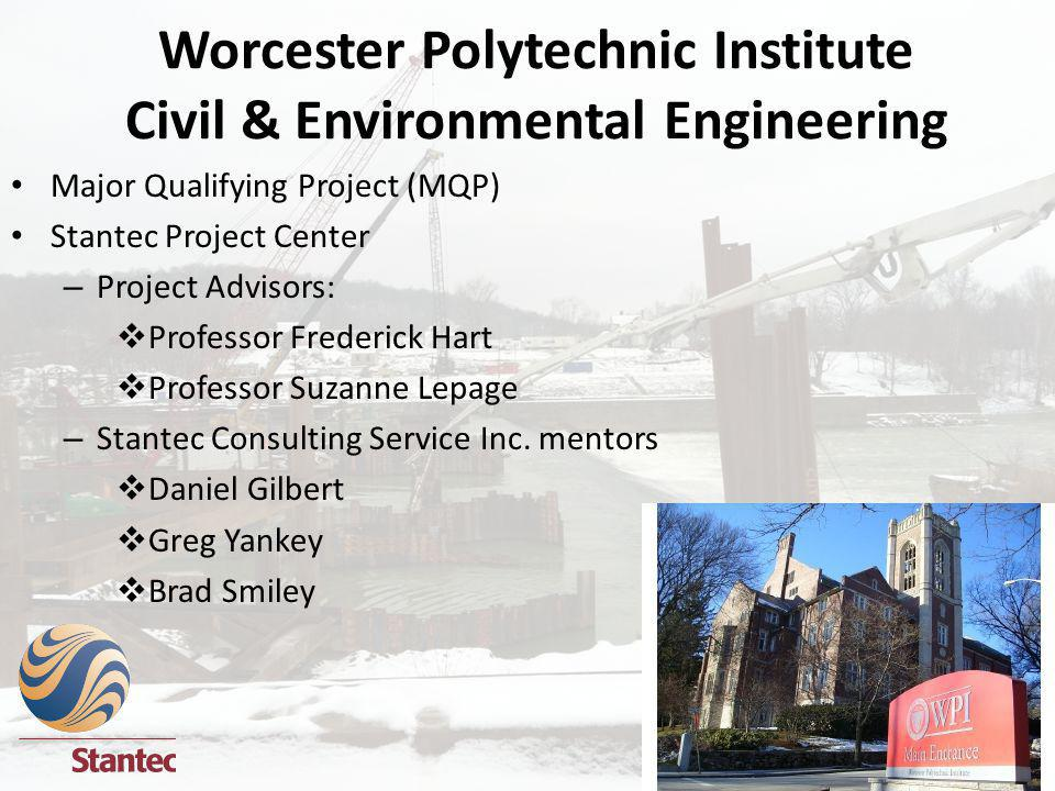 Worcester Polytechnic Institute Civil & Environmental Engineering