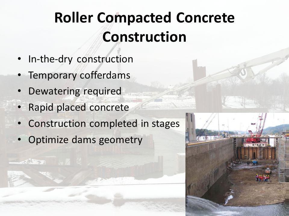 Roller Compacted Concrete Construction
