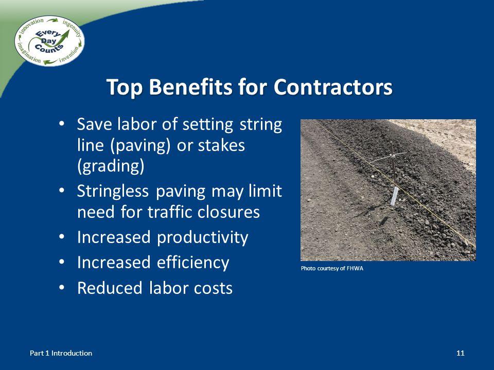 Top Benefits for Contractors