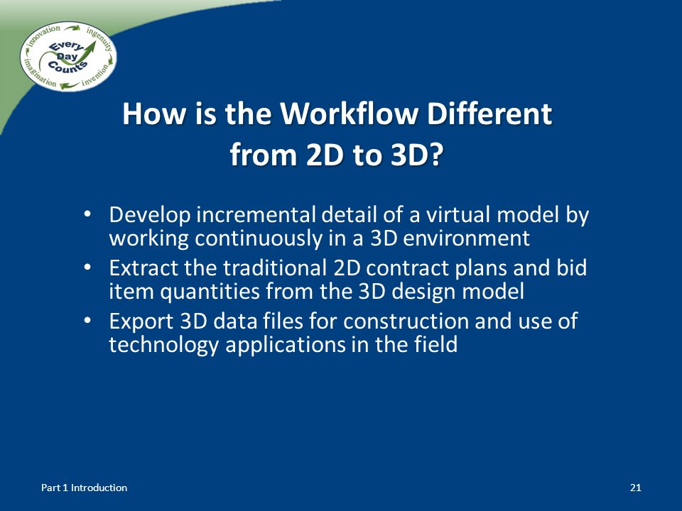 How is the Workflow Different