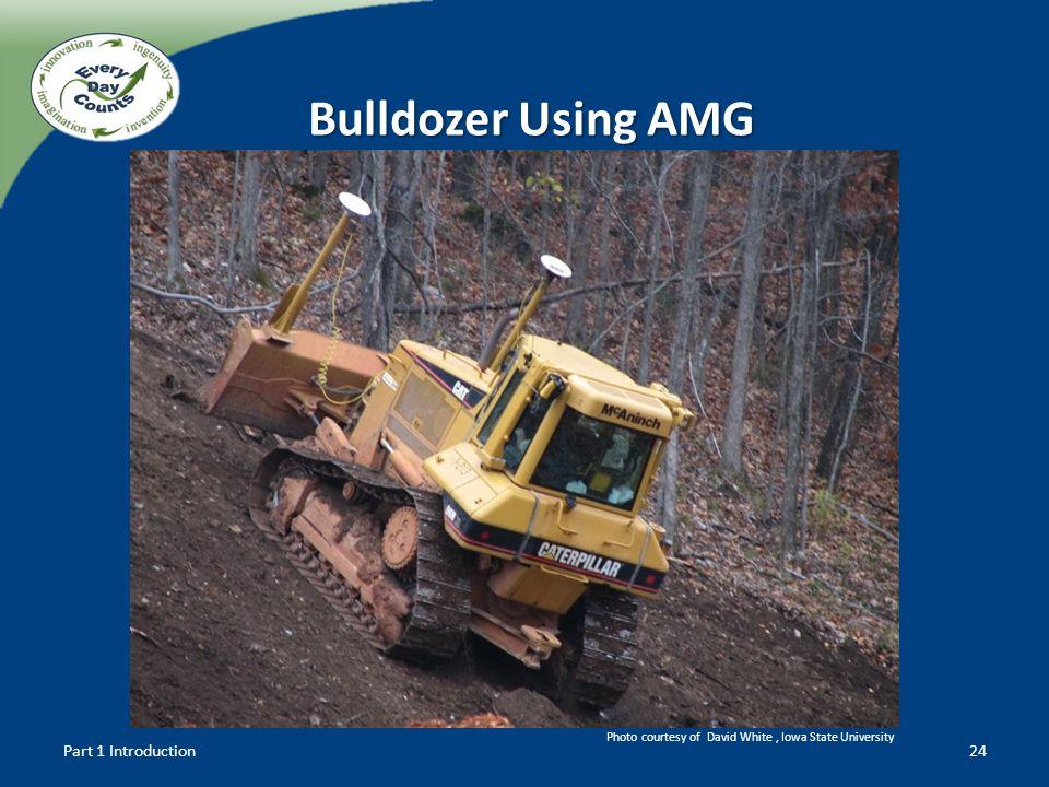 Bulldozer Using AMG