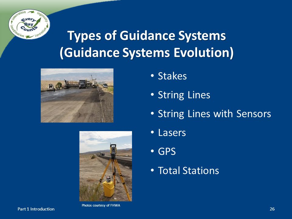 Types of Guidance Systems (Guidance Systems Evolution)