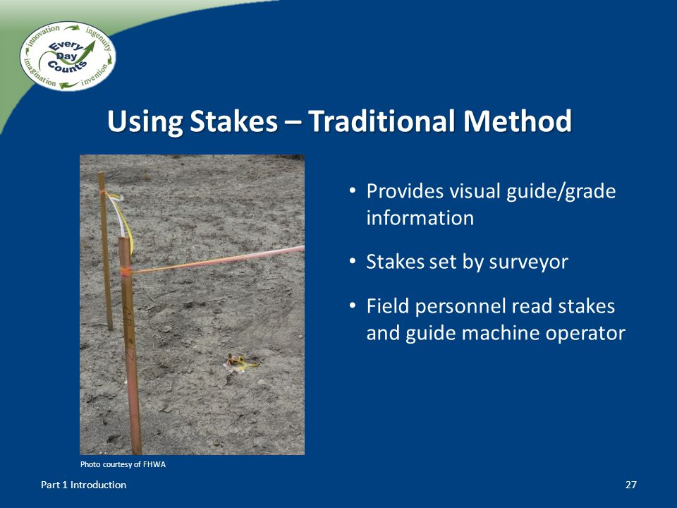 Using Stakes – Traditional Method
