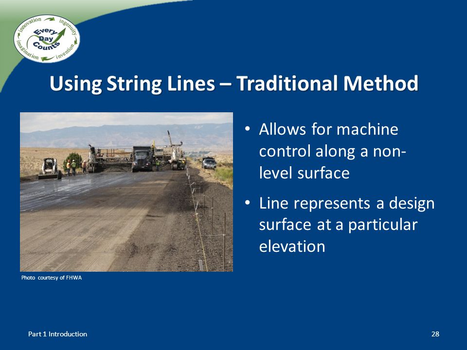 Using String Lines – Traditional Method