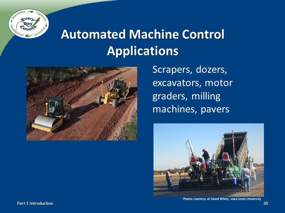 Automated Machine Control Applications