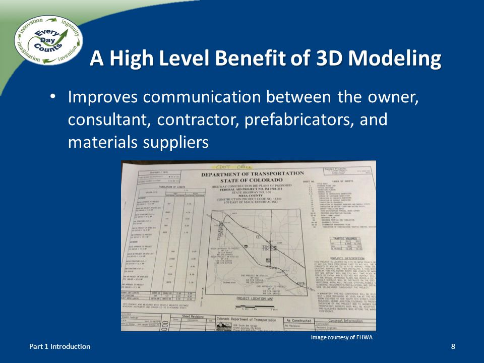 A High Level Benefit of 3D Modeling