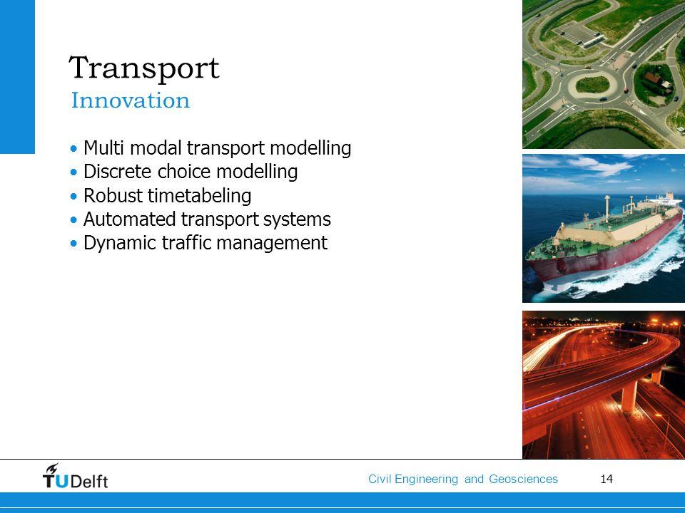 Transport Innovation Multi modal transport modelling
