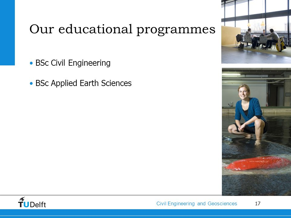Our educational programmes