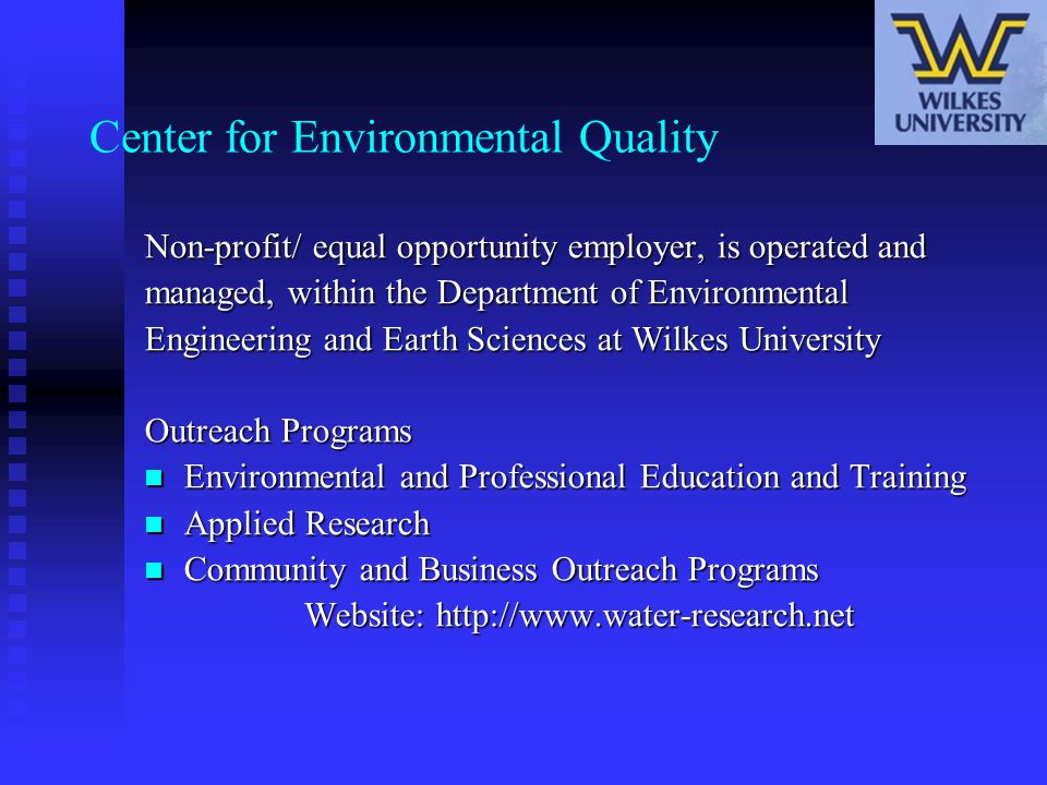 Center for Environmental Quality