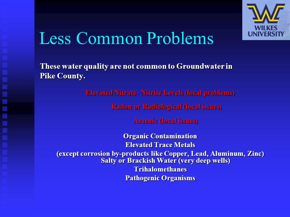 Organic Contamination