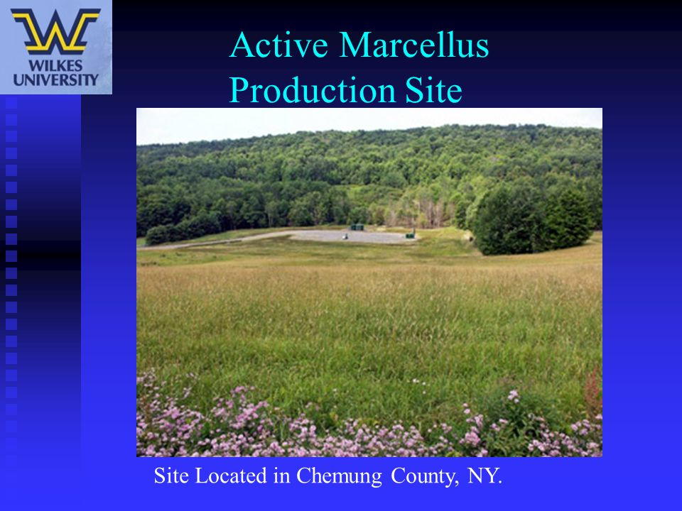 Active Marcellus Production Site