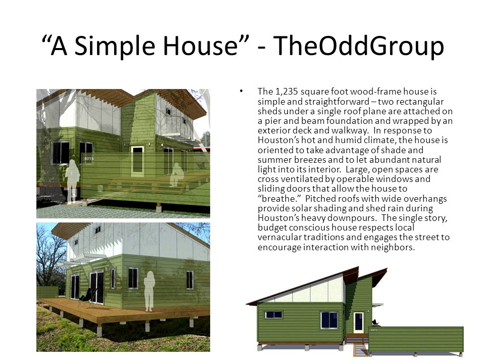 A Simple House - TheOddGroup
