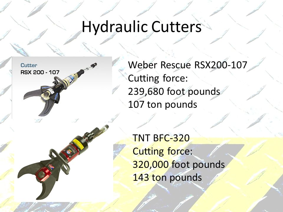 Hydraulic Cutters Weber Rescue RSX200-107 Cutting force: