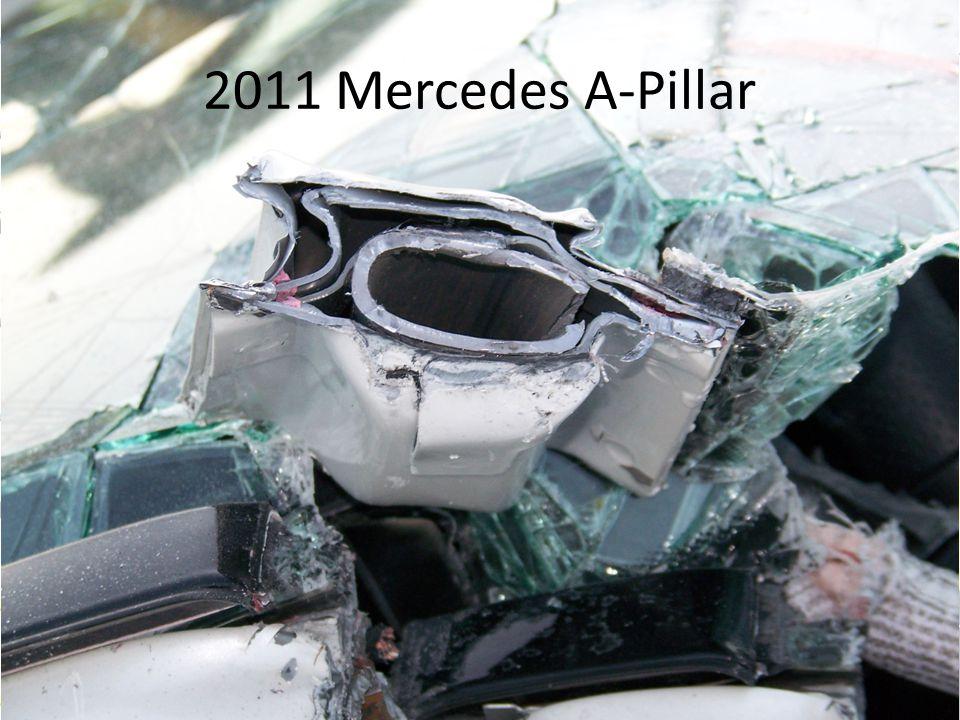 2011 Mercedes A-Pillar