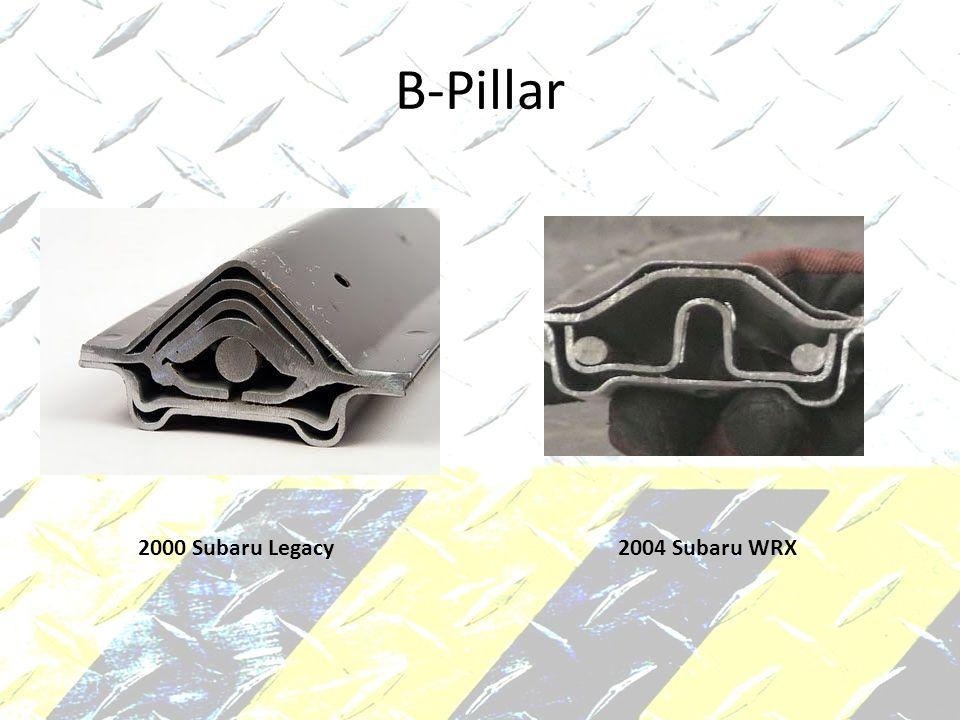 B-Pillar 2000 Subaru Legacy 2004 Subaru WRX