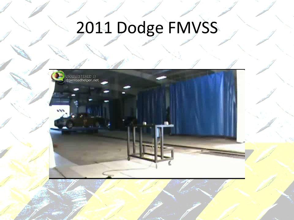 2011 Dodge FMVSS