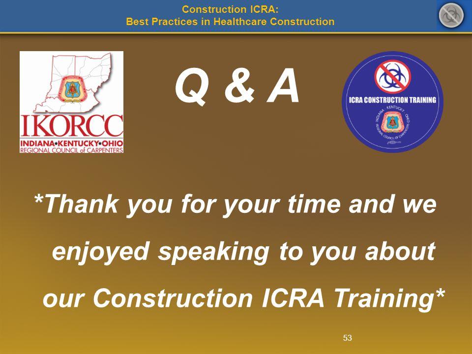 Best Practices in Healthcare Construction