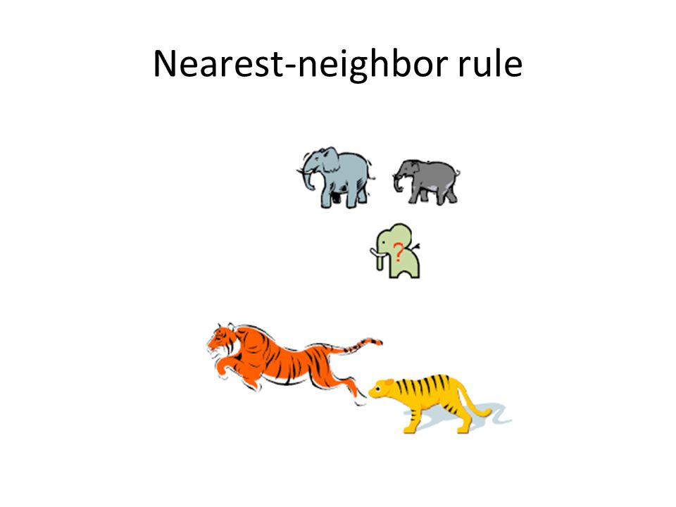 Nearest-neighbor rule