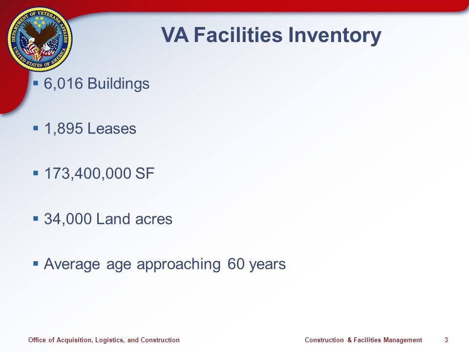 VA Construction Program