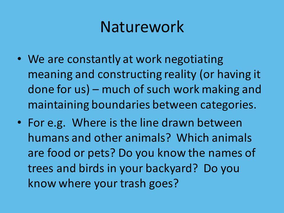 Naturework