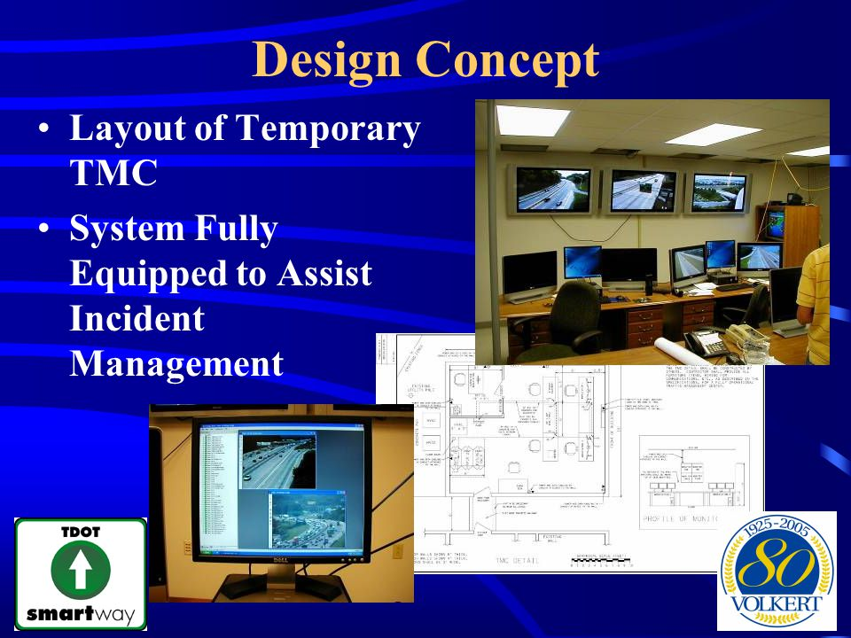 Design Concept Layout of Temporary TMC