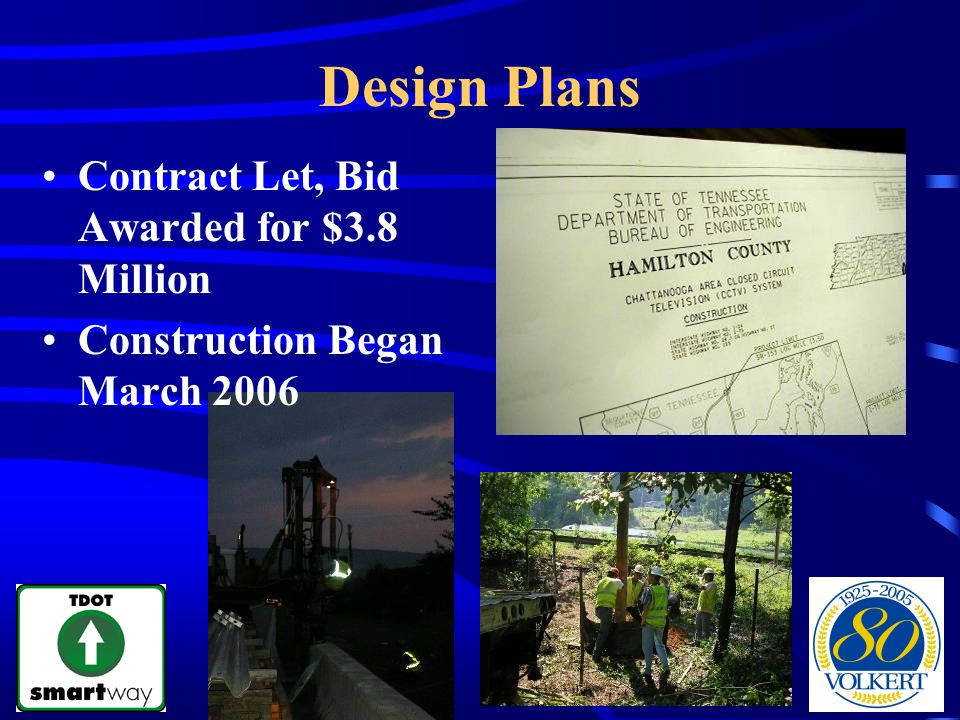 Design Plans Contract Let, Bid Awarded for $3.8 Million