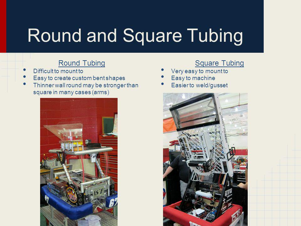 Round and Square Tubing