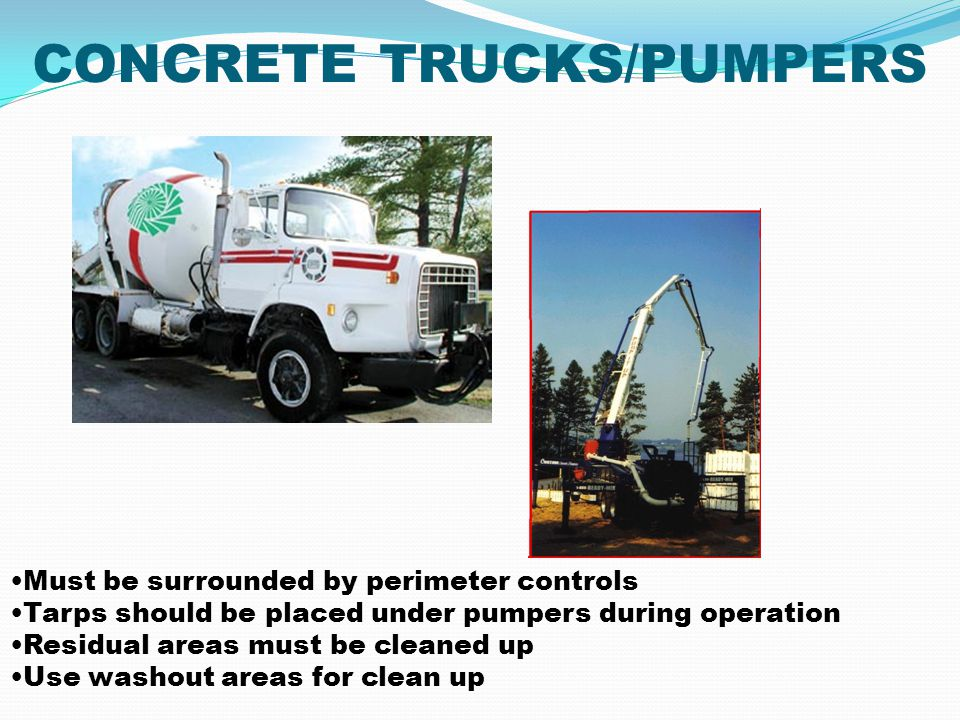 CONCRETE TRUCKS/PUMPERS