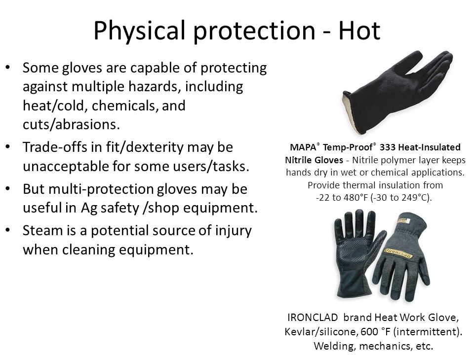 Physical protection - Hot