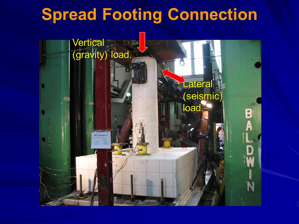 Spread Footing Connection