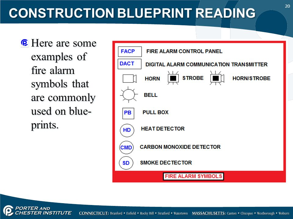 Fire Alarm Blueprint Symbols Pictures To Pin On Pinterest