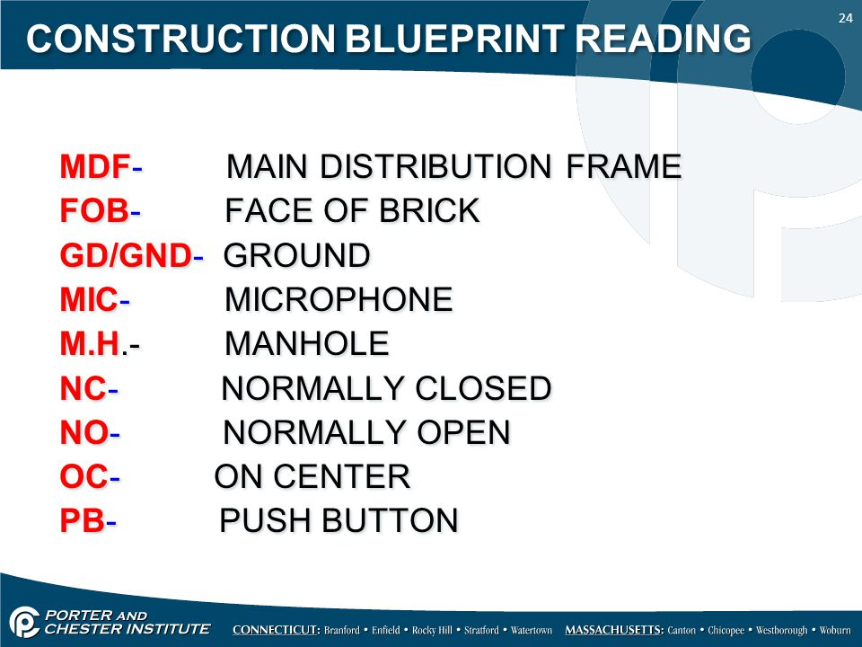 how to read construction blueprints videos