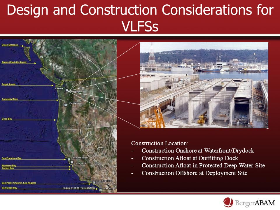 Design and Construction Considerations for VLFSs