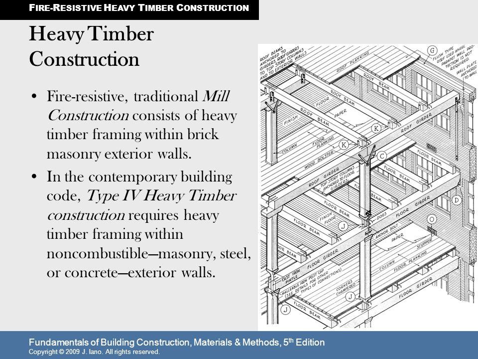 Heavy Timber Construction