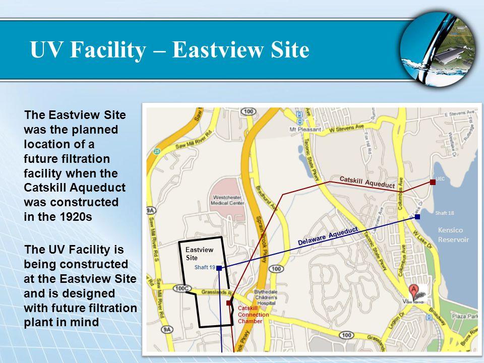 UV Facility – Eastview Site