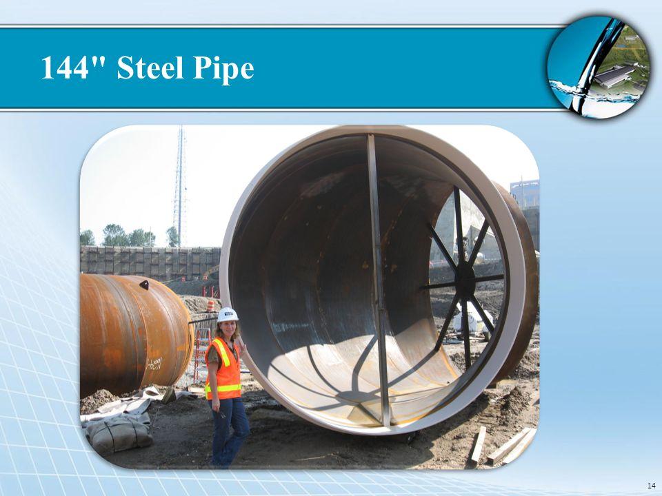 144 Steel Pipe