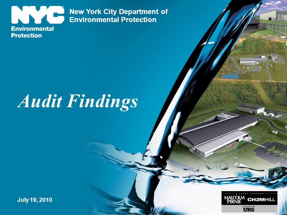 Audit Findings July 19, 2010
