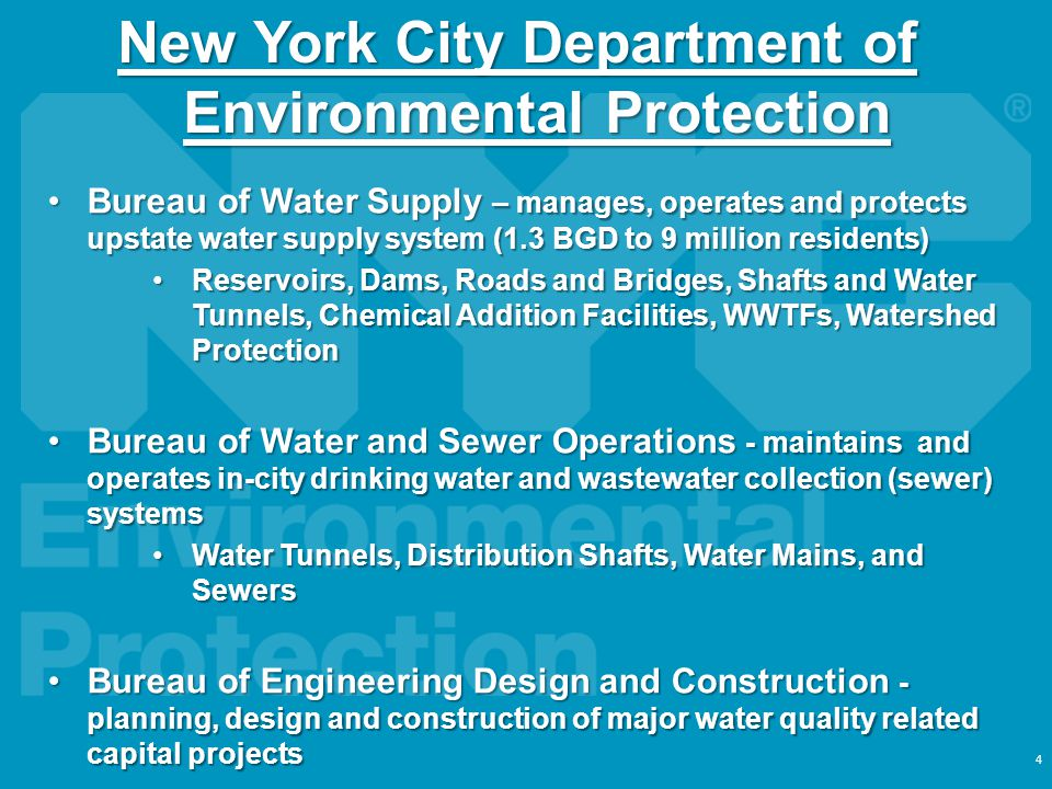 New York City Department of Environmental Protection