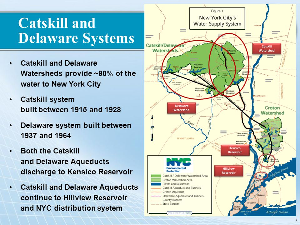 Catskill and Delaware Systems
