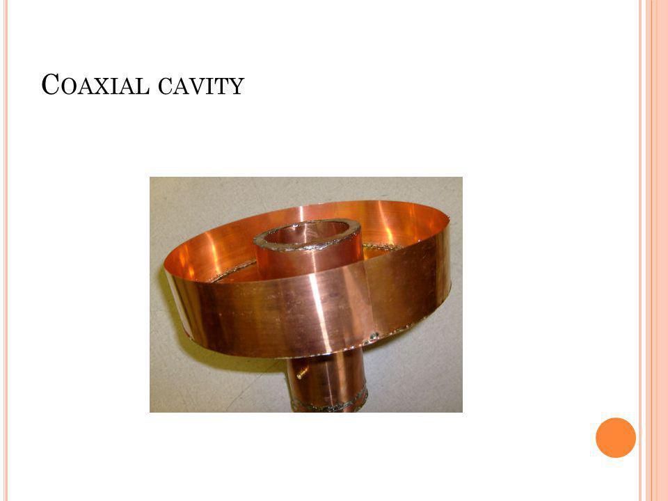 Coaxial cavity