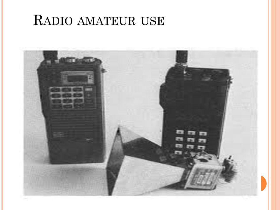 Radio amateur use