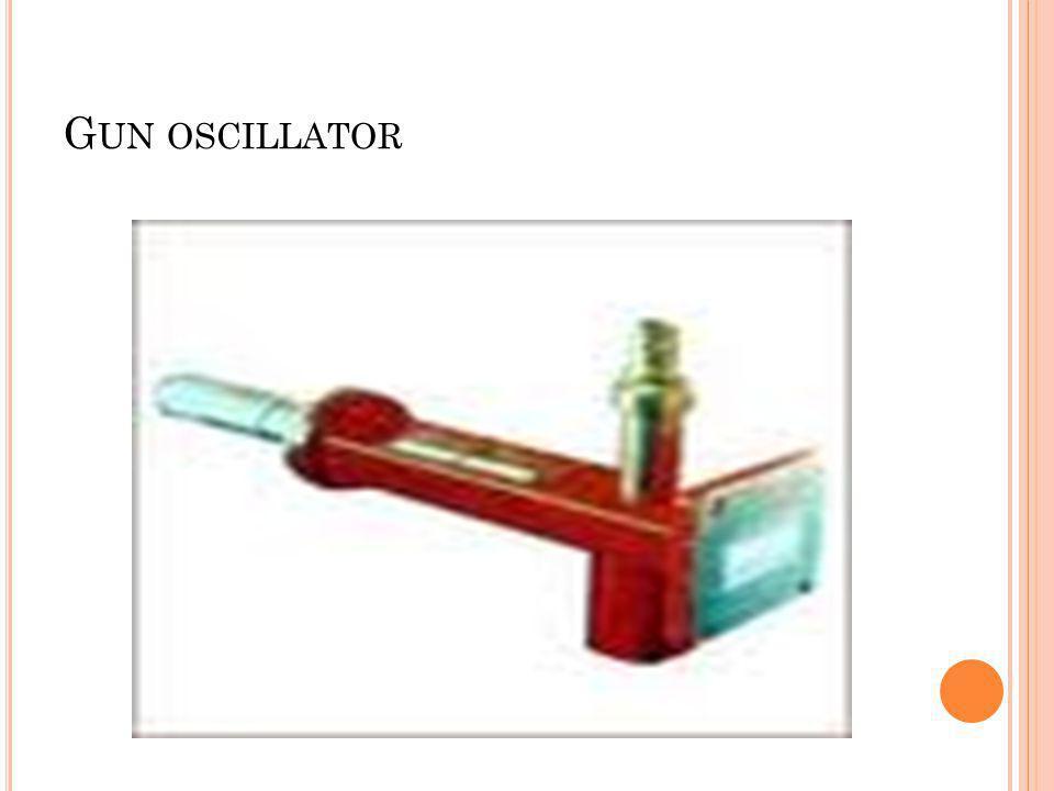 Gun oscillator
