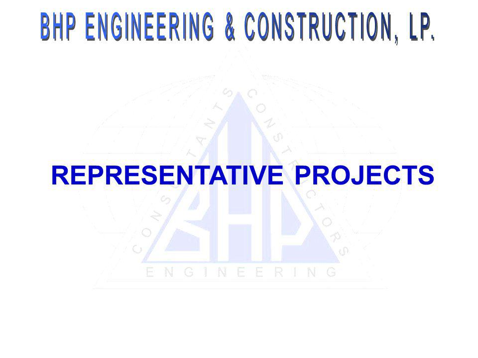REPRESENTATIVE PROJECTS