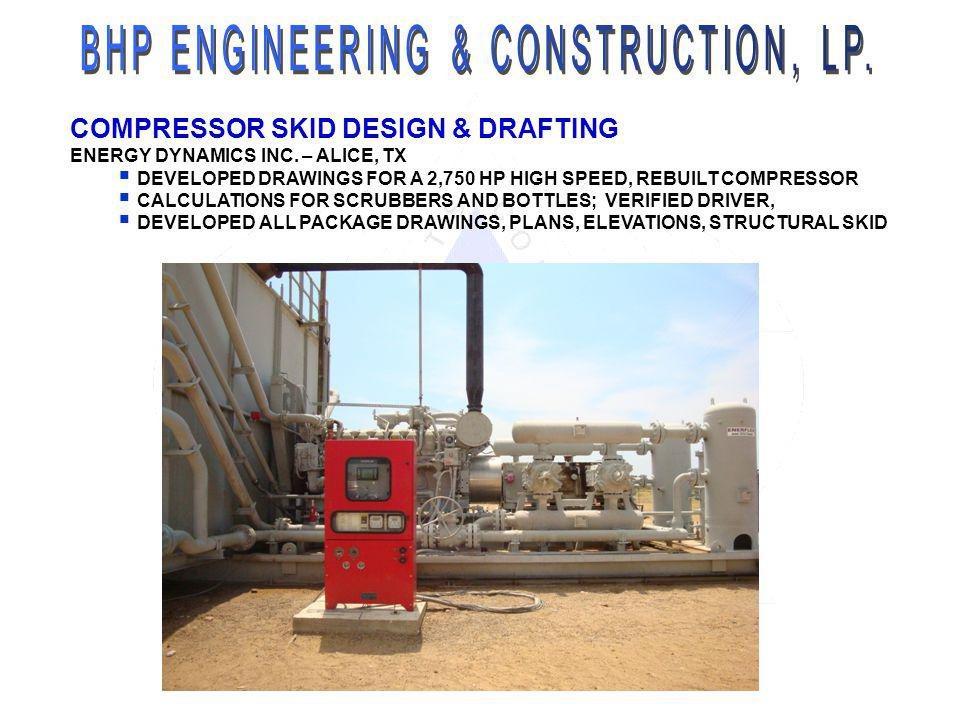 BHP ENGINEERING & CONSTRUCTION, LP.